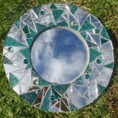 Mosaic Mirror by Mary Foley