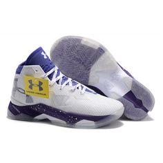 b4292f6c5a3 Hotsale Stephen Curry UA 2.5 Basketball Sport Shoe For Men White Purple - Stephen  Curry Shoes