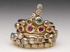 Malcolm Morris Pebble Rings