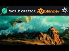 World Creator 2 to Blender Render in Octane. 3d Coat, 3d Tutorial, Desktop Screenshot, The Creator, Clouds, Landscape, World, Eagle, Tutorials