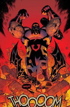 Batman vs Darkseid - Batman and Robin 37