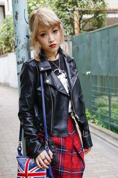 Glam Rock, Grunge, Harajuku Japan, Tokyo Street Style, Hipster, Rocker, Punk, Boho, Leather Fashion