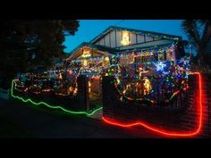 Camera Settings for Night Photography of Christmas Lights : Photography & Developing Film - YouTube