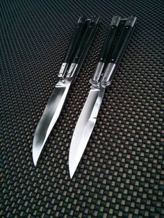 Butterfly Knife, Guy Stuff, Knives, Knife Making, Knifes