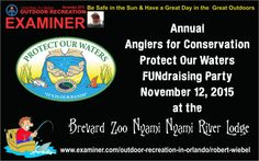 Protect our waters fundraising party