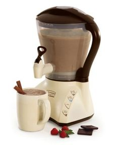 Hot Cocoa Maker...umm..yes please.