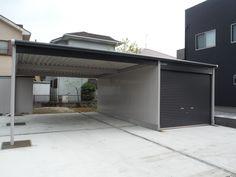Carport Garage, Garage Doors, Parking Design, Montenegro, Steel Frame, Outdoor Gardens, Gardening, Architecture, Interior