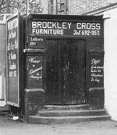 entrance to Brockley Lane train station