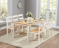 Buy The Chiltern 115Cm Oak And Cream Dining Table With Bench And Fascinating Cream Dining Room Furniture Design Ideas