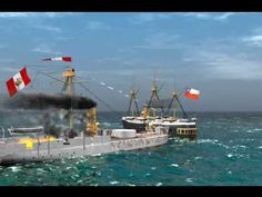 Bolivia, Chile, War Of The Pacific, Naval History, Armada, Monitor, Places, Youtube, Train