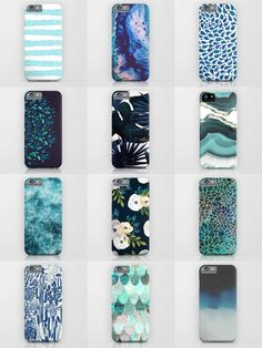 Society6 Blue Phone Cases - Society6 is home to hundreds of thousands of artists from around the globe, uploading and selling their original works as 30+ premium consumer goods from Art Prints to Throw Blankets. They create, we produce and fulfill, and every purchase pays an artist.