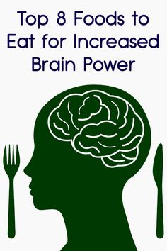 Top 8 Foods to Eat for Increased Brain Power ~ http://facthacker.com/foods-for-brain-power/