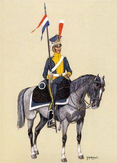 Lanciere polacco della legione della Vistola