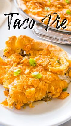 Pie Recipes, Casserole Recipes, Mexican Food Recipes, Dinner Recipes, Cooking Recipes, I Love Food, Good Food, Yummy Food, Chicken Taquitos