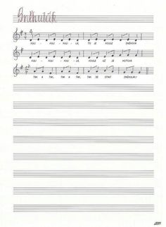 Snehulak Sheet Music, Sporty, Music Sheets
