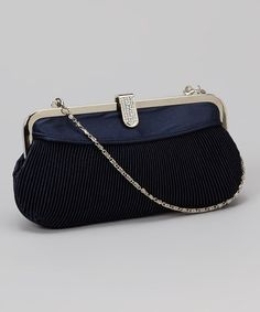 Take a look at this Navy Chana Clutch by Carlo Fellini on #zulily today!
