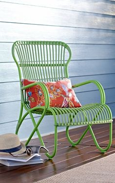 Enjoy Your Day In The Sun, Lounging In The Deep, Contoured Seat And Bold ·  Outdoor SectionalOutdoor ChairsPlantation ...