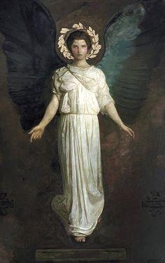 Abbott Handerson Thayer - Angel Two