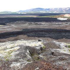 Lava fields Krafla