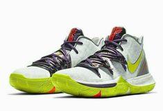 Nike Kyrie 5 Mamba Mentality Mens Basketball Shoes 11 White Cyber AO2918-102 #Nike #Sneaker #Casual