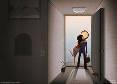 nidhi chanani | love attack | couples | art | illustration | print