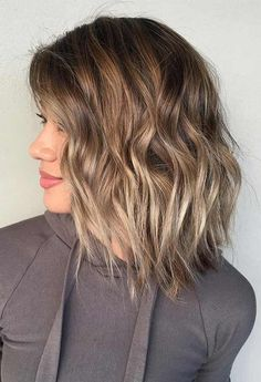 48 Cool Hair Color Ideas to Try in 2018 Cool Hair Color Ideas to Try in 2018 41 Easy Hairstyles For Long Hair, Hairstyles Haircuts, Pretty Hairstyles, Formal Hairstyles, Evening Hairstyles, Hairstyle Ideas, Balayage Straight, Short Balayage, Medium Hair Styles