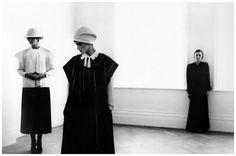 Jean Muir and Models by Deborah Turbeville 1975 Vogue