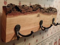 Log Coat Rack, this looks simple enough.