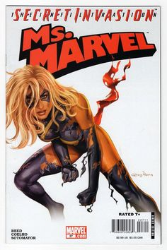 Ms Marvel #27 Regular Greg Horn Cover (2008)