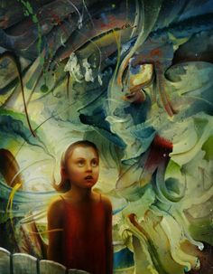 "Peter van Straten ""The Artist. Nothing ruins a grandiose sense of self like a hype. Fine Art Gallery, Natural World, African Art, Light In The Dark, Surrealism, Photo Galleries, Van, Illustration, Art"