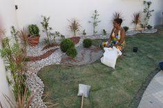Floricultura_e_paisagismo_ifsertão_rural: Instalação Jardim Residencial