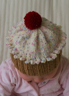 Cupcake Hat by flippytws, via Flickr