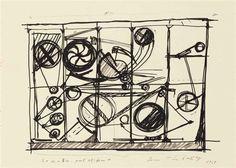 Jean Tinguely, 2 Works: Variations