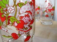 Remember when McDonald's and such would have collector glasses?  I have smurfs, popeye...and many more!