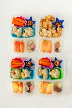 Tons of fun lunch ideas | packed in @EasyLunchboxes