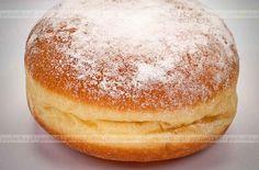 Pączki 'szybkie' Albanian Recipes, Bosnian Recipes, Ukrainian Recipes, Croatian Recipes, Bakery Recipes, Donut Recipes, Cookie Recipes, Snack Recipes, Dessert Recipes