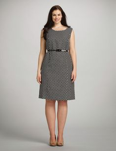 Plus Size Clothing Stores on the Mainstream Spring Dresses Casual, Simple Dresses, Plus Size Dresses, Plus Size Outfits, Nice Dresses, Dresses For Work, Big Size Fashion, Xl Fashion, Curvy Fashion