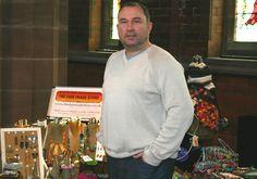 My Fair Trade gifts stall in Crosby, Merseyside - Paul