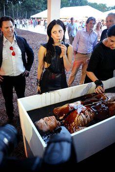 Lady gaga eats people