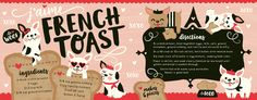 J'aime French Toast by Laura Mayes
