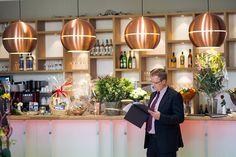Retro koper van Zuiver @http://www.ludwig-restaurant.de/