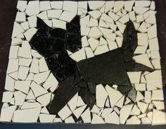 Mosaik. Katze. Von Gültigkeit Ferihan
