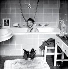 Lee Miller in Hitler's Bathtub by David Scherman