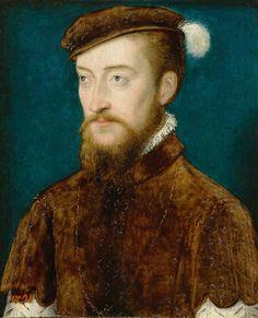 1548 Corneille de Lyon - Portrait of Antoine de Bourbon