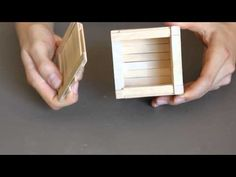 Child Proof Popsicle Stick Puzzle Box - YouTube More