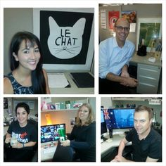 Say hello to the #Isagenix design team: Kat, Mike, Sally, Kirsten and Romeo.