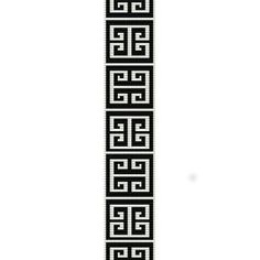 bracelet looming patterns | GREEK KEY - LOOM beading pattern for cuff bracelet (buy any 2 patterns ...