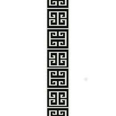 bracelet looming patterns | GREEK KEY - LOOM beading pattern for cuff bracelet (buy any 2 patterns ... More