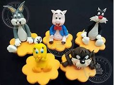 Looney Tunes Cupcakes - Bing Images