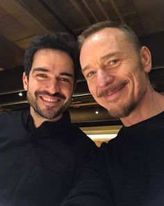 Alfonso Herrera as Father Tomas Ortega and dBen Daniels as Father Marcus Keane